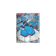 Big Slice Pop Blue Raspberry 48 Pop Bag
