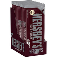 Hershey'S Chocolate Candy Bars, Extra Large, 4.4 Ounce Bar (Pack Of 12)