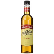 Da Vinci French Vanilla Syrup , 750 Ml Bottle (Plastic)