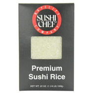 Sushi Chef Short Grain Rice, 20-Ounce Boxes (Pack Of 6)