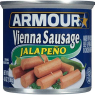 Armour Vienna Sausage, Jalapeno, 4.6 Ounce (Pack Of 24)