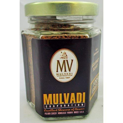 Mulvadi, Coffee Instant 100 Kona, 1.5 Ounce