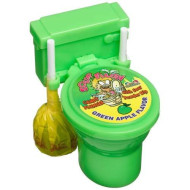 Kidsmania Sour Flush Candy Plunger With Sour Powder Dip, 1.38-Ounce Plungers (Pack Of 12)
