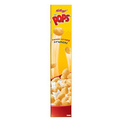 Kellogg's Corn Pops, Breakfast Cereal, Original, Excellent Source of 7 Vitamins and Minerals, 10oz Box