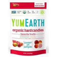 Yumearth Organic Candy Drops, Freshest Fruit, 13 Ounce Bag (Pack Of 4) (Packaging May Vary)