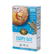 Nature'S Path Organic Gluten Free Cereal, Crispy Rice, Whole Grain Brown Rice, 10 Ounce Box (Pack Of 6)