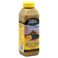 World Harbors Honey Dijon Sauce,16-Ounce Bottles (Pack Of 6)