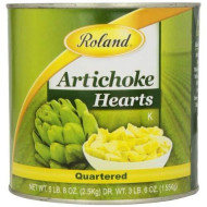 Roland Foods Artichoke Hearts, Quartered, 5.5 Pound (Pack Of 2)