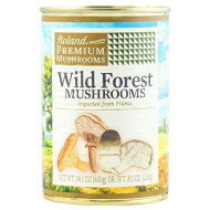 Roland Mushrooms, Wild Forest, 14.1 Ounce (Pack of 4)