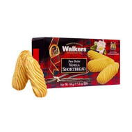 Walkers Shortbread Vanilla Shortbread, 5.3-Ounce Boxes (Pack Of 4) Traditional &Amp; Simple Pure Butter Shortbread Cookies From The Scottish Highlands, No Artificial Flavors