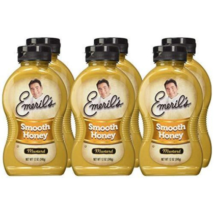 Emeril's Smoooth Honey Mustard, 12-Ounce Unit (Pack of 6)