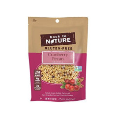 Back To Nature Non Gmo, Gluten Free Cranberry Pecan Granola, 11-Ounce Pouches (Pack Of 6)
