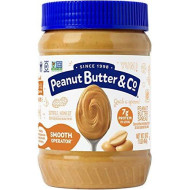Peanut Butter & Co. Smooth Operator Peanut Butter, Non-GMO Project Verified, Gluten Free, Vegan, 16 oz Jars (Pack of 6)