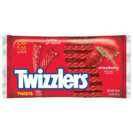 Twizzlers Twists, Strawberry Flavored Licorice Candy, 16 Ounce Bag (Pack Of 6)