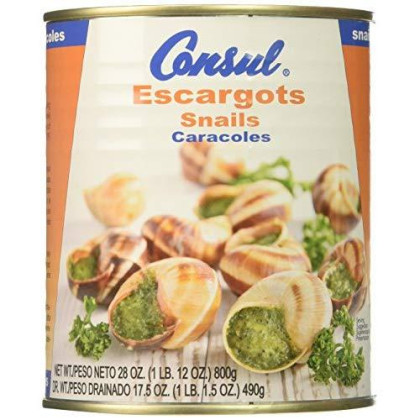 Consul Escargot Snails, Very Large, 28 Ounce (Pack of 2)