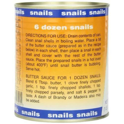 Consul Escargot Snails, Extra Large, 28 Ounce (Pack of 2)