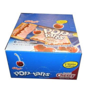 Kellog'S Pop Tarts Frosted Cherry Toaster Pastries Master Case Twelve 12-Packs 144 Pieces
