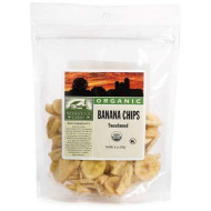 Woodstock Farms Banana Chips, Sweetened, Organic, 6-Ounce Bags (Pack Of 8)