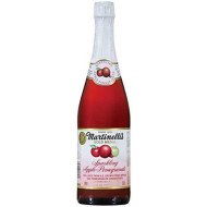 Martinellis Apple And Promegranate Sparkling Juice, 25.4 Ounce - 12 Per Case.