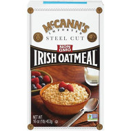 McCann's Irish Oatmeal, Traditional Steel Cut, 16 Ounce (Pack of 12)