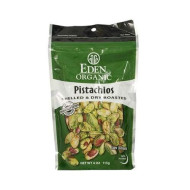 Eden Foods Organic Shelled And Dry Roasted Pistachios, 4 Ounce - 15 Per Case.