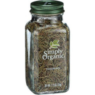 Simply Organic Whole Rosemary Leaf, 1.23 Ounce - 6 Per Case