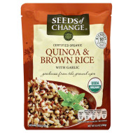 Seeds Of Change Organic Quinoa & Brown Rice With Garlic ( 12X8.5 Oz)