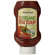 Woodstock Organic Tomato Ketchup, 20 Ounce (Pack of 12)
