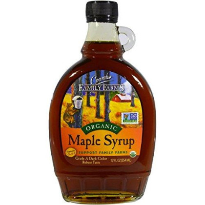 Coombs Organic Maple Syrup, 12 Ounce - 12 per case.