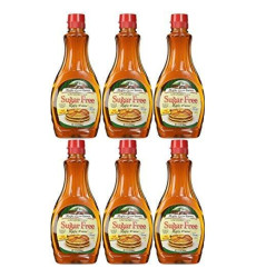 Vermont Sugar Free Syrup, 12-Ounce Bottles (Pack Of 6)