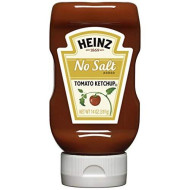 Heinz Tomato Ketchup, No Salt Added, 14 Ounce (Pack of 6)