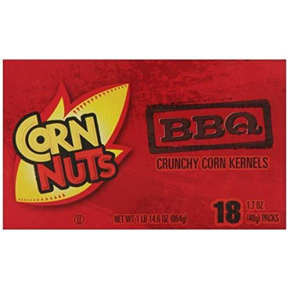 Cornnuts Barbeque Flavored, 1.7-Ounce Packages (Pack of 36)