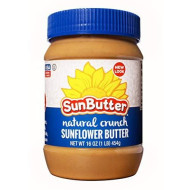 Sunbutter Natural Crunch Sunbutter, 16 Oz