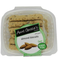 Aunt Gussie'S Sugar Free Almond Biscuits, 8-Ounce Tubs (Pack Of 4)