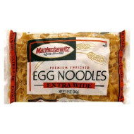 Manischewitz Extra Wide Egg Noodles, 12-Ounce Bags (Pack Of 12)