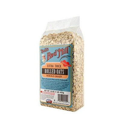 Bob's Red Mill Oats Rolled Thick - 16 oz