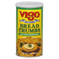 Vigo Bread Crumbs Plain, 8-ounces (Pack of12)
