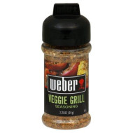 Weber Grill Seasoning Veggie Grill, 2.25-Ounce (Pack Of 6)