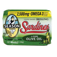 Seasons Sardine Brslng Qurtr O Oil