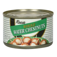 Reese Whole Waterchestnuts, 8-Ounces (Pack Of24)