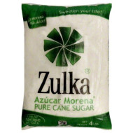 Zulka Cane Sugar, 4 Pound Package (Pack Of 5)