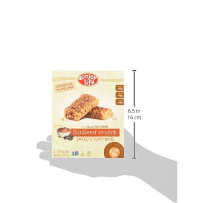 Enjoy Life Sunseed Crunch Baked Chewy Bars, 5-1oz bars