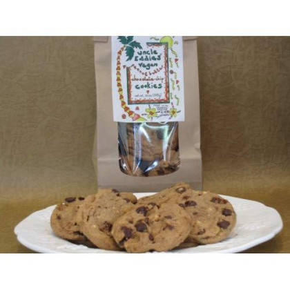 Uncle Eddies Vegan Peanut Butter Chocolate Chip Cookies / 4 Bags