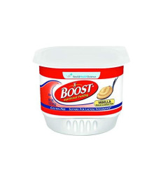 Boost Nutritional Pudding, Vanilla, 5 Ounce Cups (Pack of 48) (Packaging May Vary)