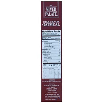 The Silver Palate Oatmeal, Thick & Rough, 14-Ounce Box (Pack of 4)