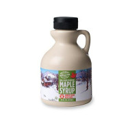 Butternut Mountain Farm 100% Pure Maple Syrup From Vermont, Grade A, Amber Color, Rich Taste, All Natural, Easy Pour Plastic Jug, 16 Fl Oz, 1 Pint
