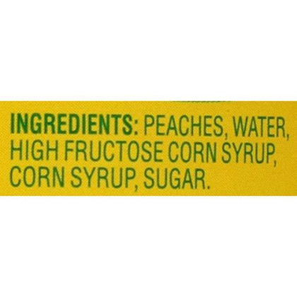 Del Monte Canned Sliced Yellow Cling Peaches in Heavy Syrup, 8.5-Ounce (Pack of 12)