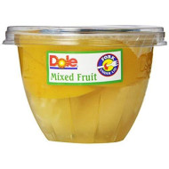 Dole Fruit Bowls, Mixed Fruit In 100% Juice, 7-Ounce Cups (Pack Of 12)