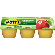 Mott's Natural Sauce Apple, 3.9-Ounce Cups (Pack of 72)