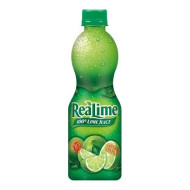 Realime 100% Lime Juice, 15-Ounce Bottles (Pack Of 6)